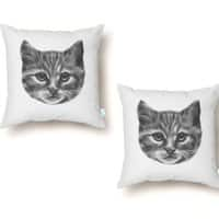 Everybody Wants to be a Cat - throw-pillow - small view