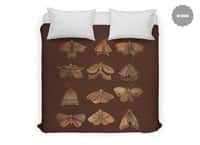 Moth Collector - duvet-cover - small view