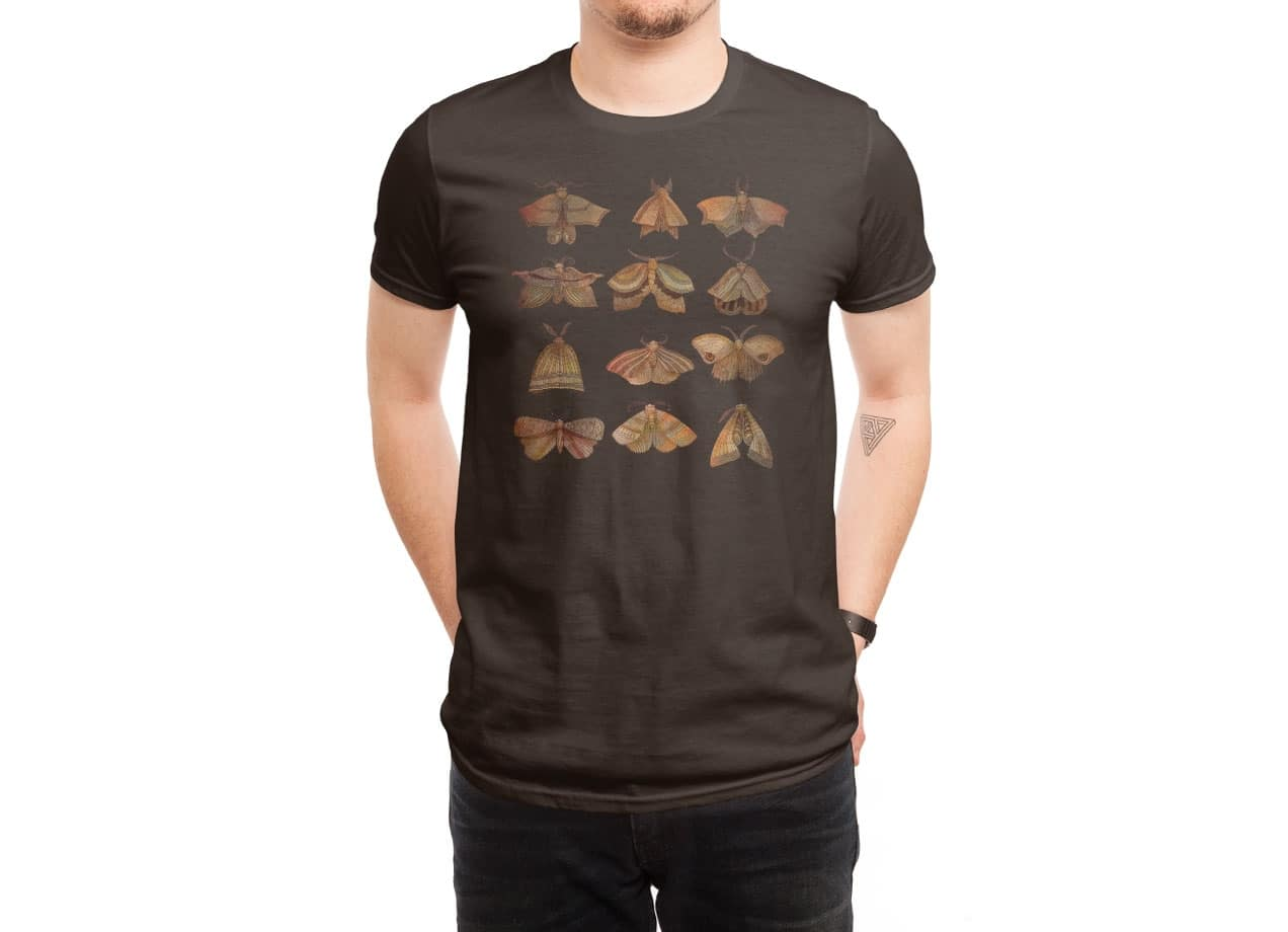 designer t shirts moth collector by david fleck mens threadless 30347