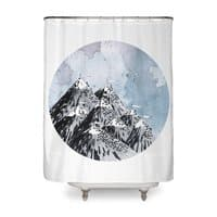 How Many Roads? - shower-curtain - small view