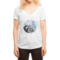How Many Roads? - womens-deep-v-neck - small view