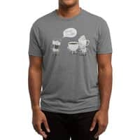 Coffee That's Always Late - mens-triblend-tee - small view