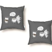 Coffee That's Always Late - throw-pillow - small view