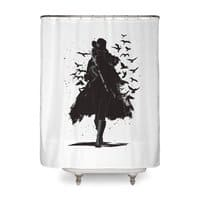 Gray Destiny - shower-curtain - small view