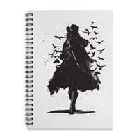 Gray Destiny - spiral-notebook - small view