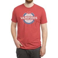 Vote Vampires! - mens-triblend-tee - small view
