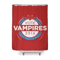 Vote Vampires! - shower-curtain - small view