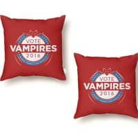 Vote Vampires! - throw-pillow - small view