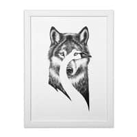 Beauty or Beast - white-vertical-framed-print - small view