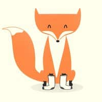 A Fox with Socks - small view
