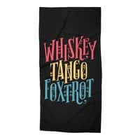 Whiskey Tango Foxtrot - beach-towel - small view