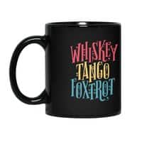 Whiskey Tango Foxtrot - black-mug - small view