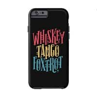 Whiskey Tango Foxtrot - double-duty-phone-case - small view