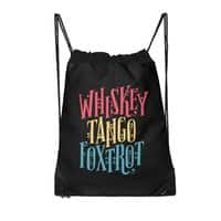 Whiskey Tango Foxtrot - drawstring-bag - small view