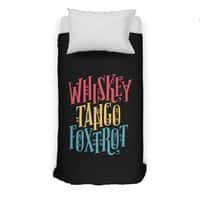 Whiskey Tango Foxtrot - duvet-cover - small view