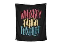 Whiskey Tango Foxtrot - indoor-wall-tapestry-vertical - small view