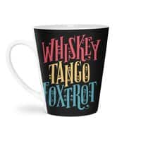 Whiskey Tango Foxtrot - latte-mug - small view