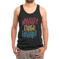 Whiskey Tango Foxtrot - mens-triblend-tank - small view