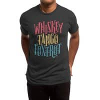 Whiskey Tango Foxtrot - mens-triblend-tee - small view