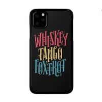 Whiskey Tango Foxtrot - perfect-fit-phone-case - small view