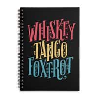 Whiskey Tango Foxtrot - spiral-notebook - small view