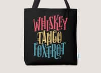 Whiskey Tango Foxtrot - tote-bag - small view