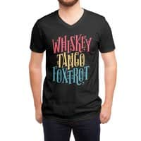 Whiskey Tango Foxtrot - vneck - small view