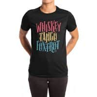 Whiskey Tango Foxtrot - womens-extra-soft-tee - small view