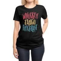 Whiskey Tango Foxtrot - womens-regular-tee - small view