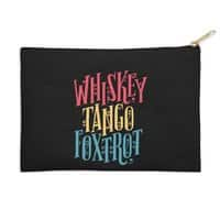 Whiskey Tango Foxtrot - zip-pouch - small view
