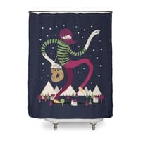 The Night Sky Maker - shower-curtain - small view