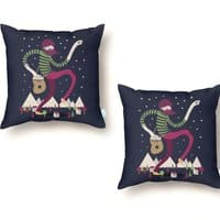 The Night Sky Maker - throw-pillow - small view