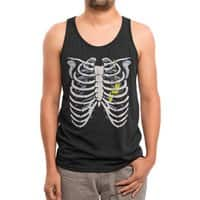 Caged - mens-triblend-tank - small view