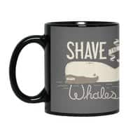 Shave the Whales - black-mug - small view