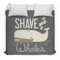 Shave the Whales - duvet-cover - small view