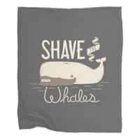 Shave the Whales - blanket - small view