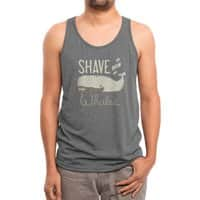 Shave the Whales - mens-triblend-tank - small view