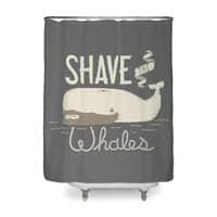 Shave the Whales - shower-curtain - small view