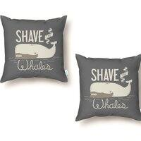 Shave the Whales - throw-pillow - small view