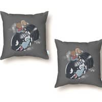 Love the Bomb - throw-pillow - small view
