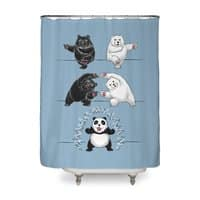 Ultimate Fusion! - shower-curtain - small view