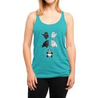 Ultimate Fusion! - womens-triblend-racerback-tank - small view