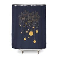 The Hanging City - shower-curtain - small view