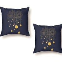 The Hanging City - throw-pillow - small view