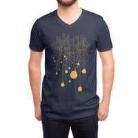 The Hanging City - vneck - small view