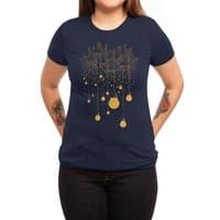 The Hanging City - womens-triblend-tee - small view