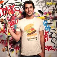 Burger Wipeout - mens-regular-tee - small view