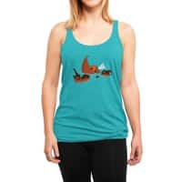 Biblical Disaster - womens-triblend-racerback-tank - small view
