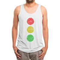 Green Means Go - mens-triblend-tank - small view
