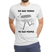 Do Bad Things - mens-triblend-tee - small view